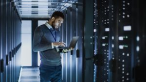 cyber security technician in data center