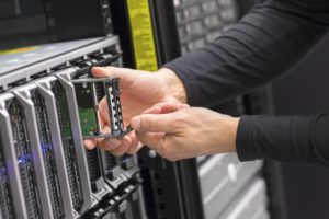 blade server in datacenter